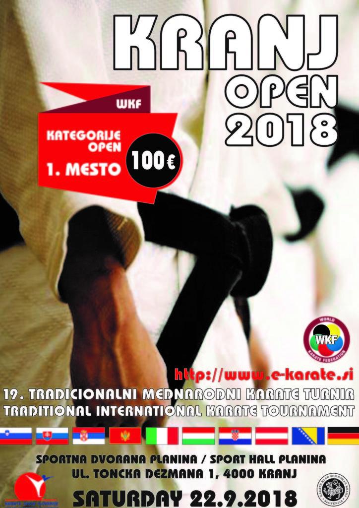Kranj Open 2018 turnir - str.1
